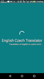 English Czech Translator apk screenshot 1
