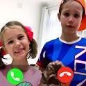 Fake call : correspondence mr max and miss katy icon
