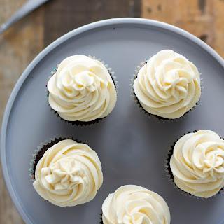 Chocolate Stout Cupcakes with Irish Cream Frosting Recipe
