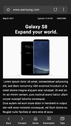 Samsung Internet Browser for PC