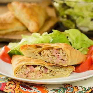 Ham, Turkey, and Cheddar Turnovers