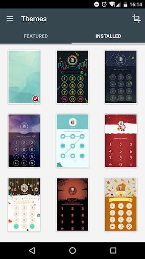AppLock Theme ChalkDoodle 1.0 screenshots 3