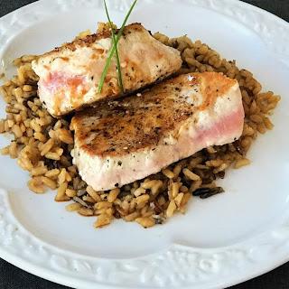 Pan-Seared Tuna Steaks Recipe