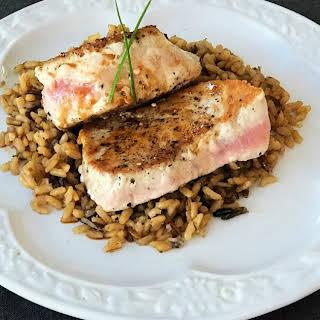 Pan-Seared Tuna Steaks.