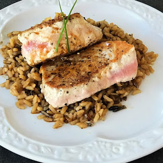 Pan-Seared Tuna Steaks.