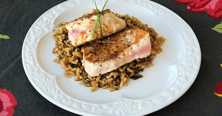 Pan-Seared Tuna Steaks Recipe