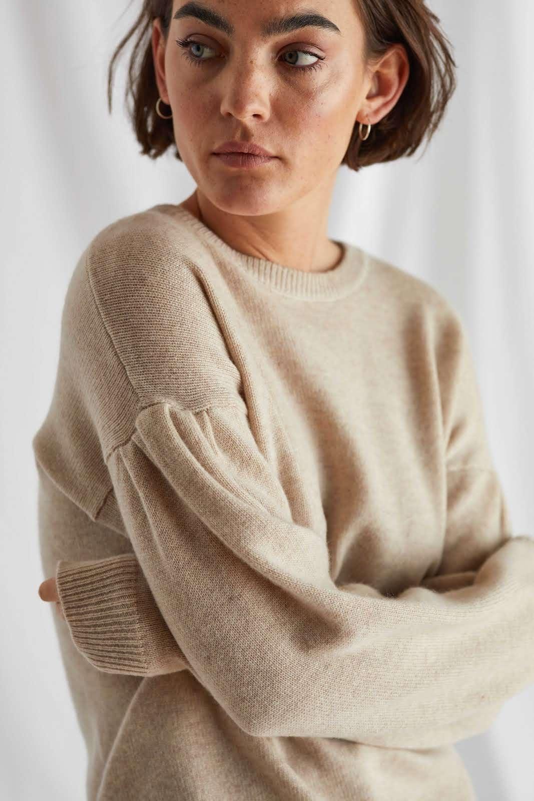 Volume Sleeve Sweater