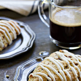 Toffee Almond Scones.