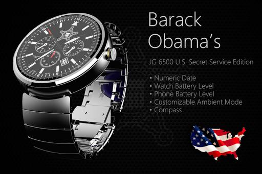 Barack Obama's Watchface