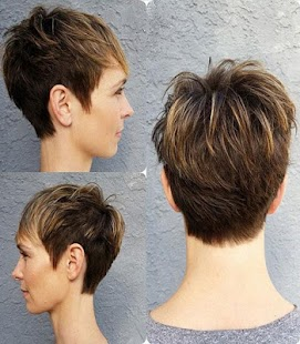 Pixie Hairstyle - náhled