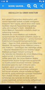 Download SODIQ SAHOBALAR QISSASI For PC Windows and Mac apk screenshot 3