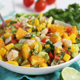 Tropical Shrimp Ceviche.