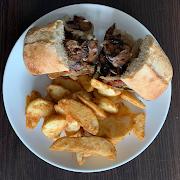 Steak Sandwich & Fries