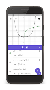 GeoGebra CAS Calculator Screenshot