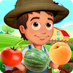 Fruit Crush Matching Puzzle Adventure Icon