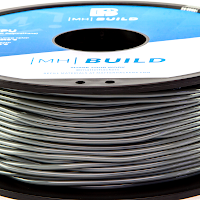 Grey MH Build Series TPU Flexible Filament - 2.85mm (1kg)