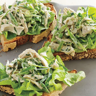 Three-Pea Chicken Salad