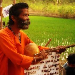 singing my mind.... by Shambaditya Das - Novices Only Portraits & People