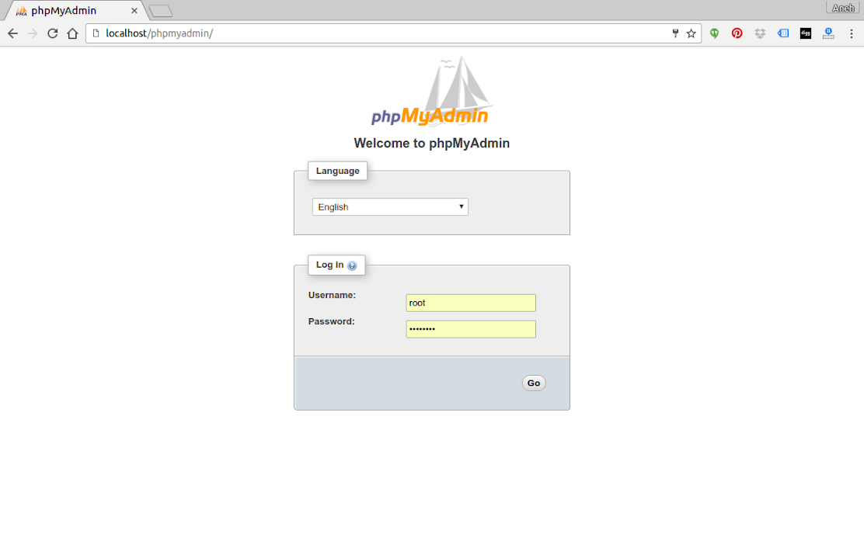 Install Apache, PHP, MySql and phpMyAdmin on Ubuntu