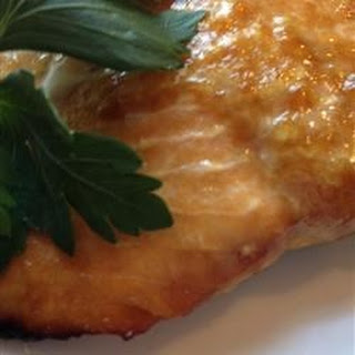 Healthier Grilled Salmon I