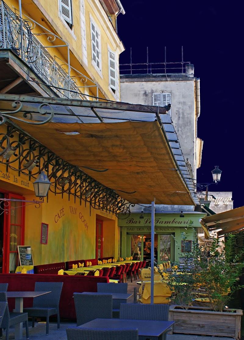 Terrazza del caffè la sera. Van Gogh di Amadeus