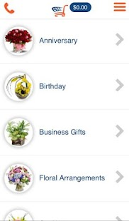 floralapp- screenshot thumbnail