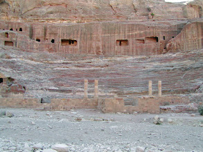 Photo: The theater was built in the 1st century, A.D. and had a capacity of 6,000 persons.