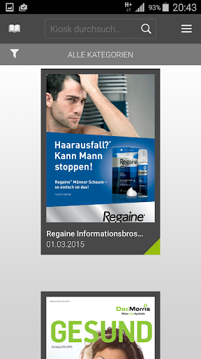 DocMorris Magazine-App