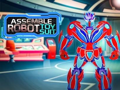 Assemble Robot Toy Suit 4