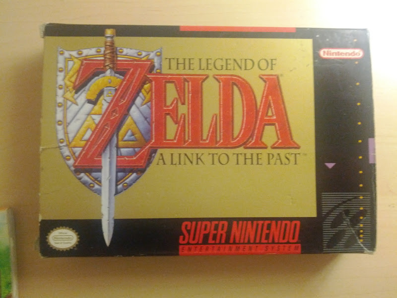 Photo: A Legen of Zelda: A Link to the Past CIB