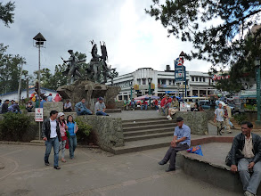 Photo: Baguio Burnham park, weekend afternoon