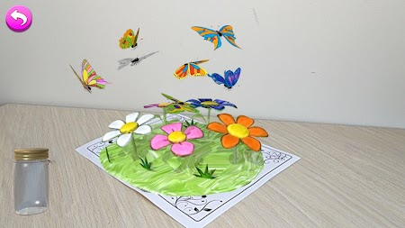 AR Butterflies and Flowers Free APK screenshot thumbnail 5