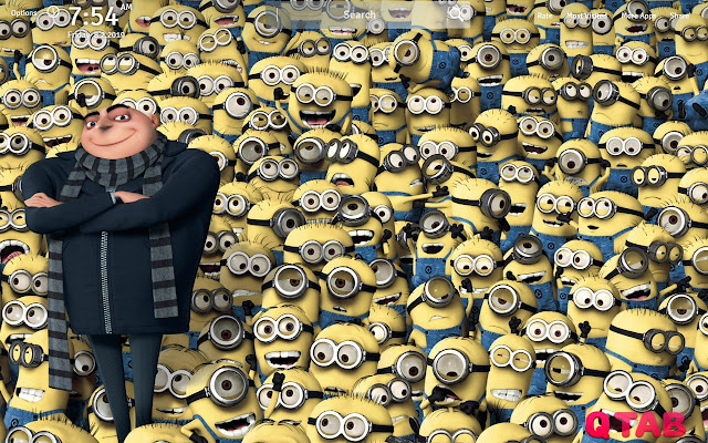 Despicable Me Wallpapers Theme New Tab