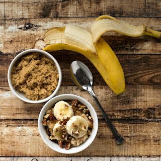 Overnight Crockpot Banana Bread Oatmeal