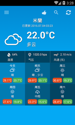 玩免費天氣APP|下載天氣意大利 app不用錢|硬是要APP