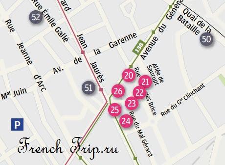 Туристический маршрут по Нанси: Ар-Нуво в Parc de Saurupt, достопримечательности Нанси, путеводитель по городу Нанси (Nancy) с картой. Что посмотреть Нанси