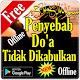 Penyebab Doa Tidak Dikabulkan (app)