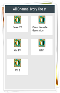 All Channel Ivory Coast - náhled