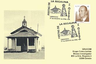 Photo: Matasellos de 75 aniversario de las fiestas de la Regalina en Cadavedo (Luarca, Valdés)