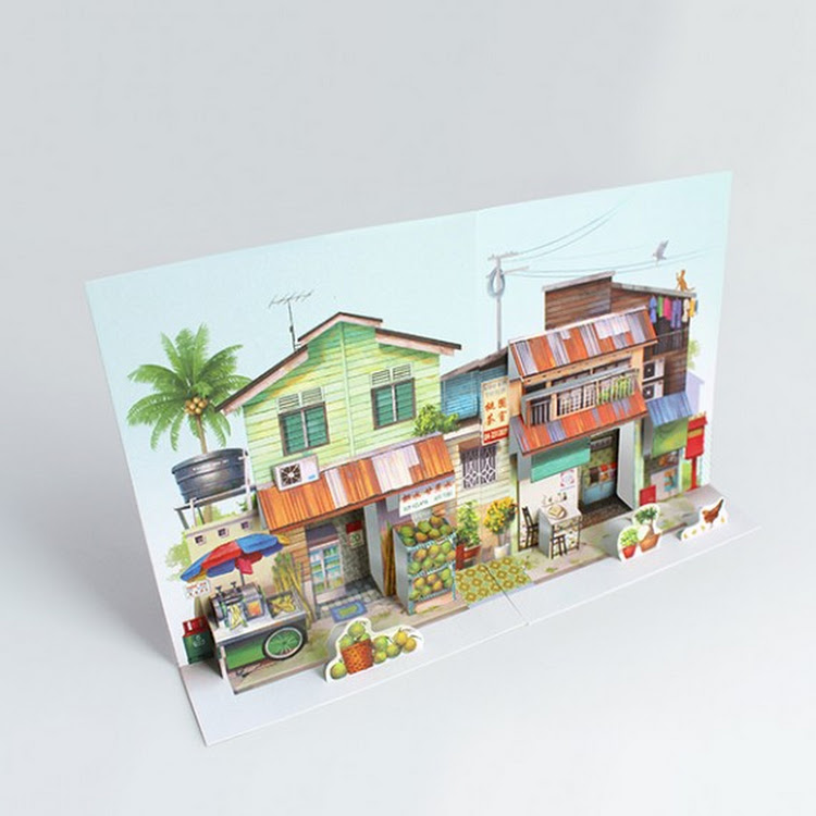 Pop Up Postcard :Neighbourhood Refreshments And Kopitiam