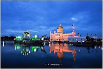 """Photo: """"Sultan Omar Ali Saifuddin Mosque"""" """"BRUNEI"""""""