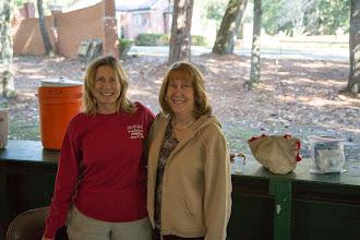 Photo: Sharon and White Springs Mayor Helen Miller