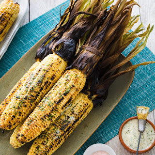 Herb Butter Grilled Corn On The Cob Recipes