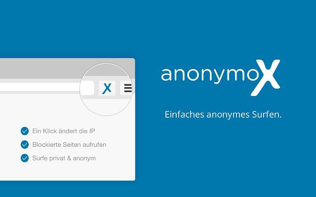 anonymoX Capture d'écran