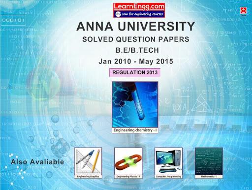 Anna Univ. Solved QB Engg CHE