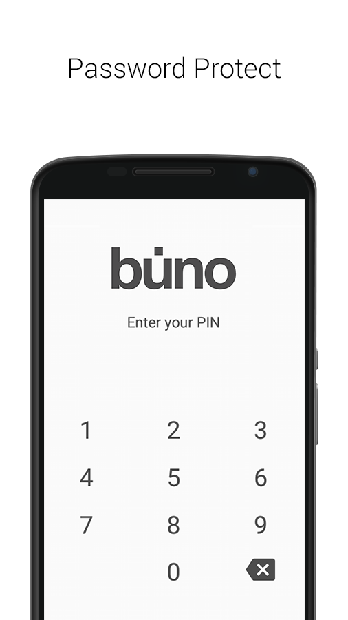 Simple Note Taking - Buno- screenshot