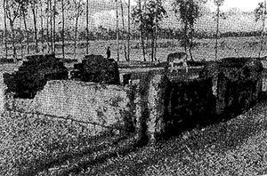 Photo: Graveyard of Shohid Habilder Bodiujjaman and Shipahi Moqbul Hossain, in Omorkhana