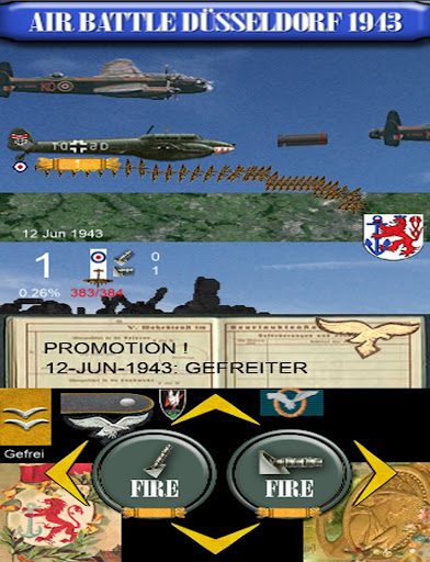 Düsseldorf 1943 Air Battle