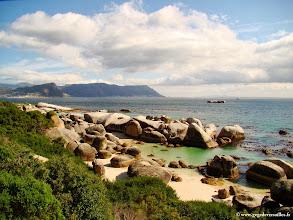 Photo: #022-La plage des Boulders.