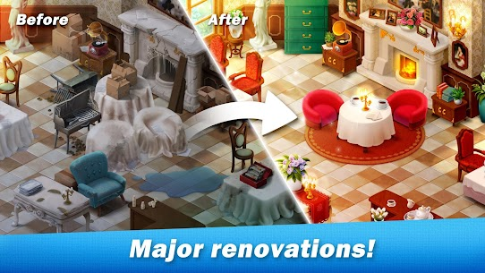 Restaurant Renovation MOD APK [Unlimited Stars] 1.10.4 3